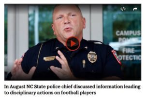 Decision to not Pursue Charges Against NCSU Football Players