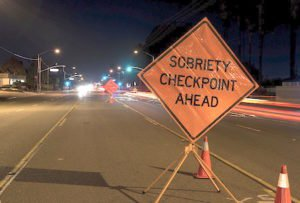 stationary and dwi roadside checkpoint